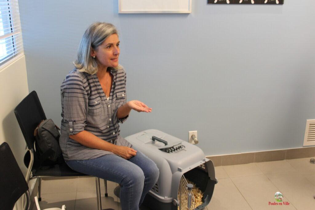 Nancy en consultation